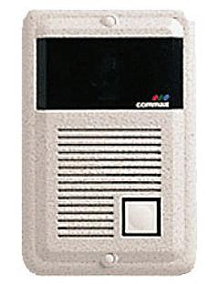4-х проводная металлическая видеопанель.  Разрешение 380 TВ лин.  Чувствительность 0,1 люкс.